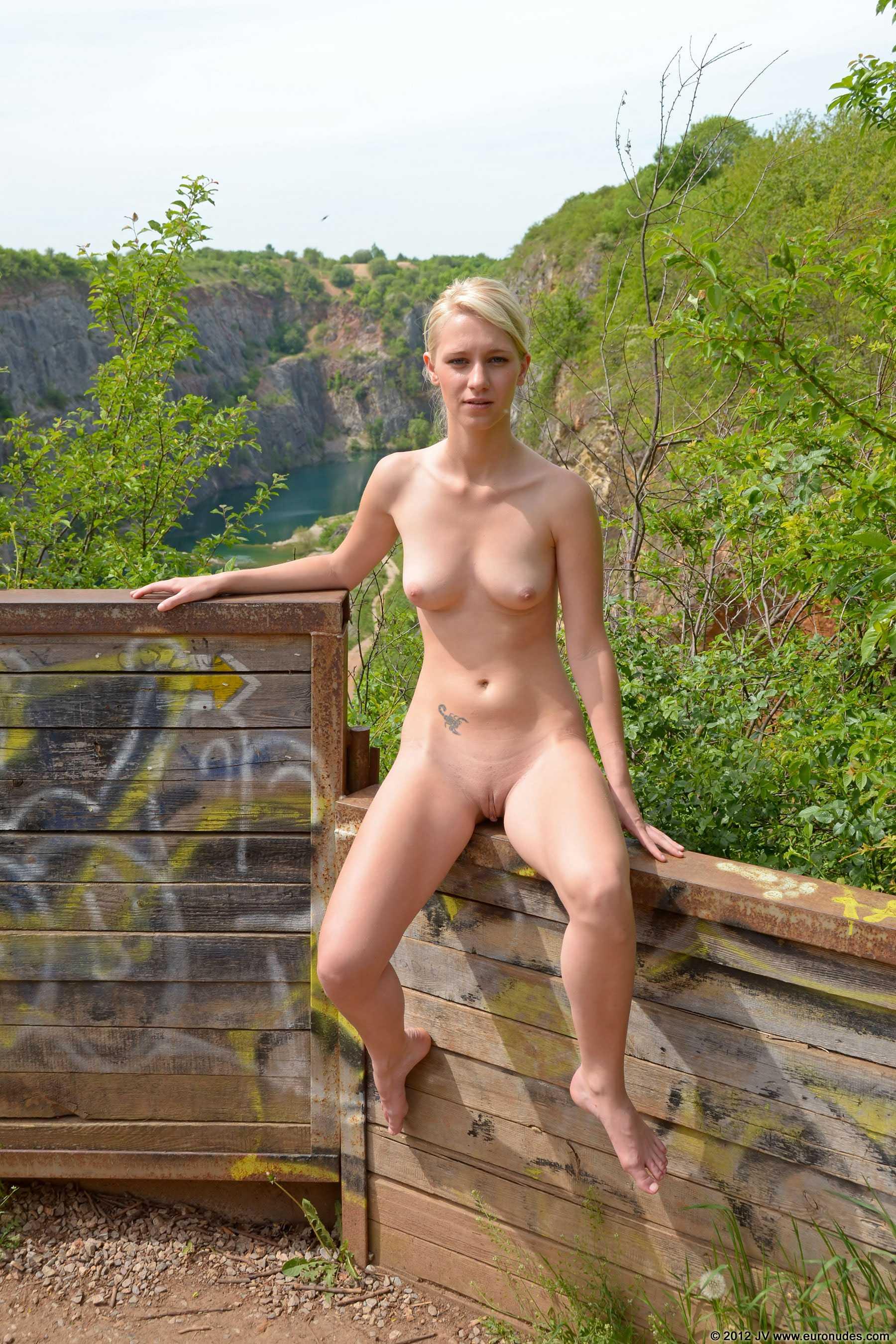 Hot naked girls grinding self shot