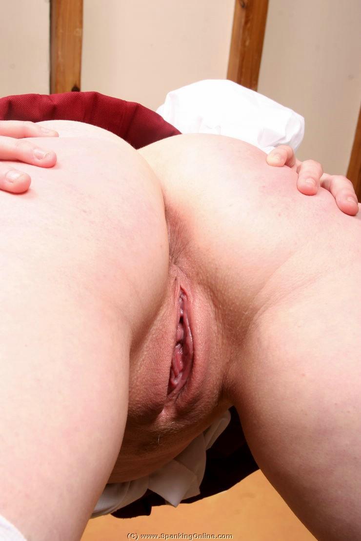 Punishment spanking hard