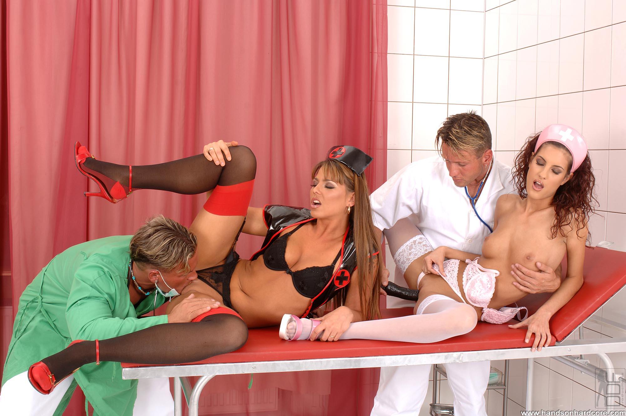 медсестрички в чулках порно онлайн