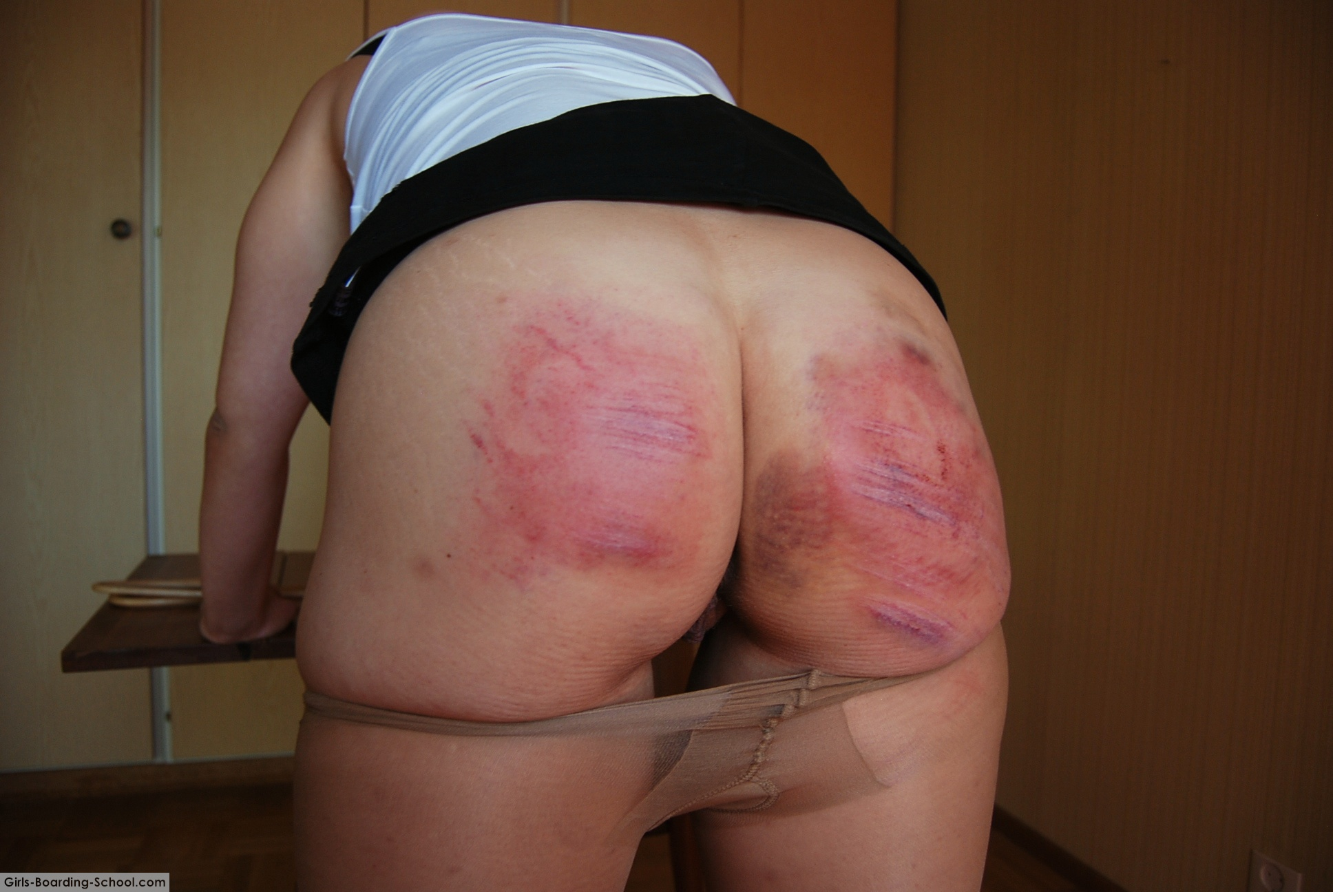 Spank bad ass nasty slut