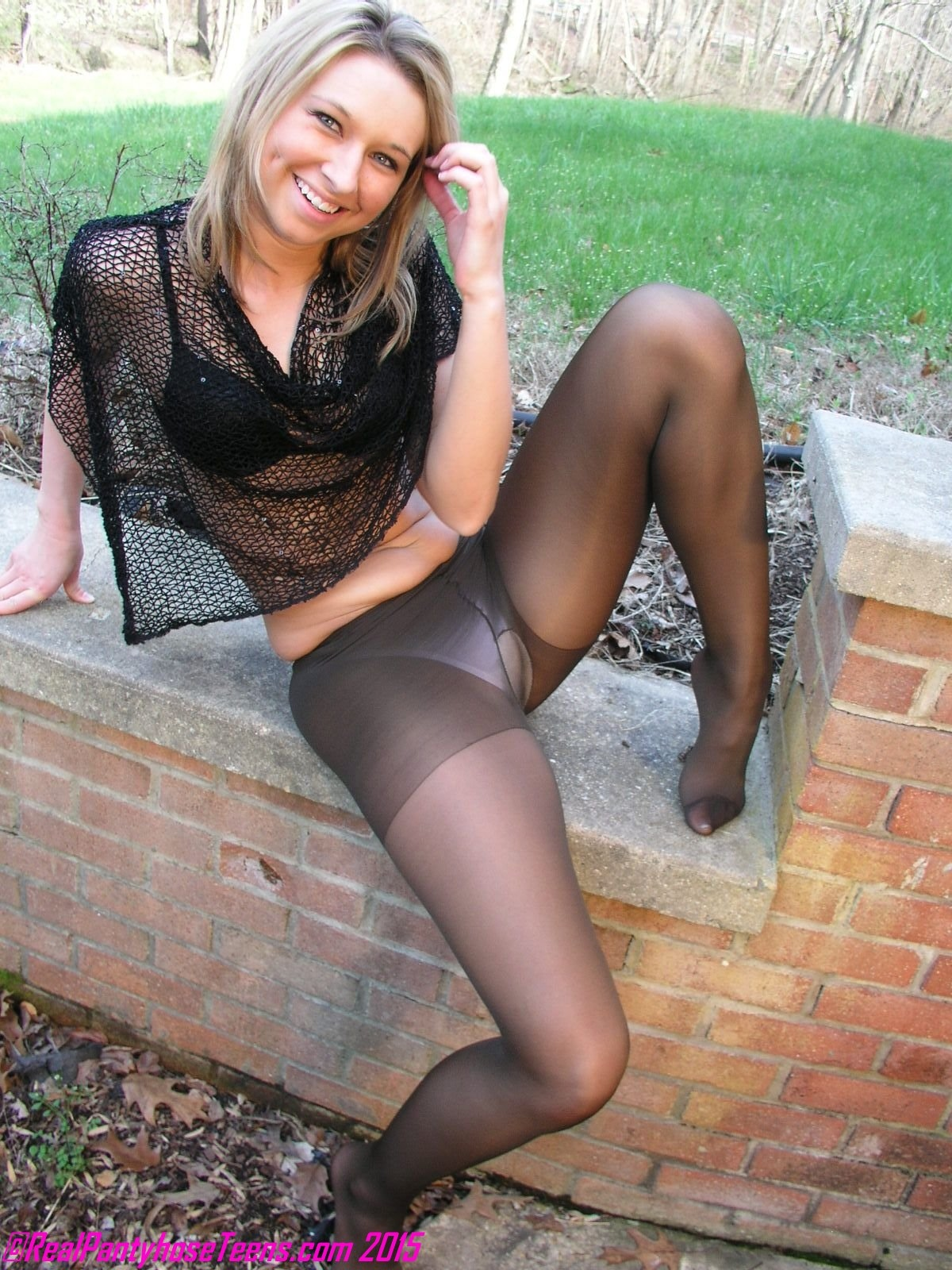 hose Girl in panty