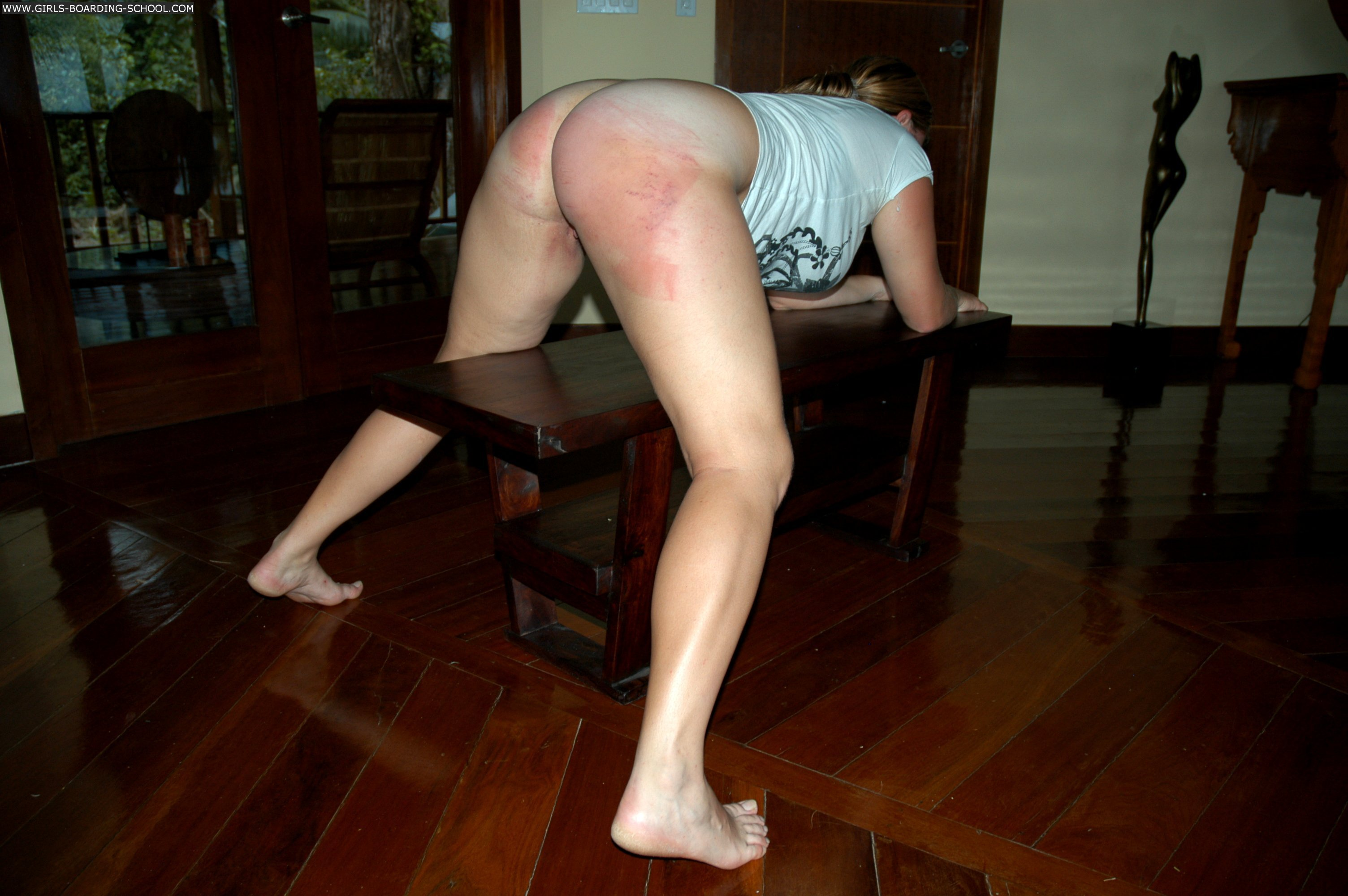 Delicia..I Hard Belt Spanking Clips looking